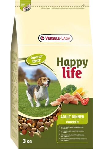 Bento Kronen Trockenfutter »Happy Life Adult Chicken Dinner«, (1), 15 kg kaufen