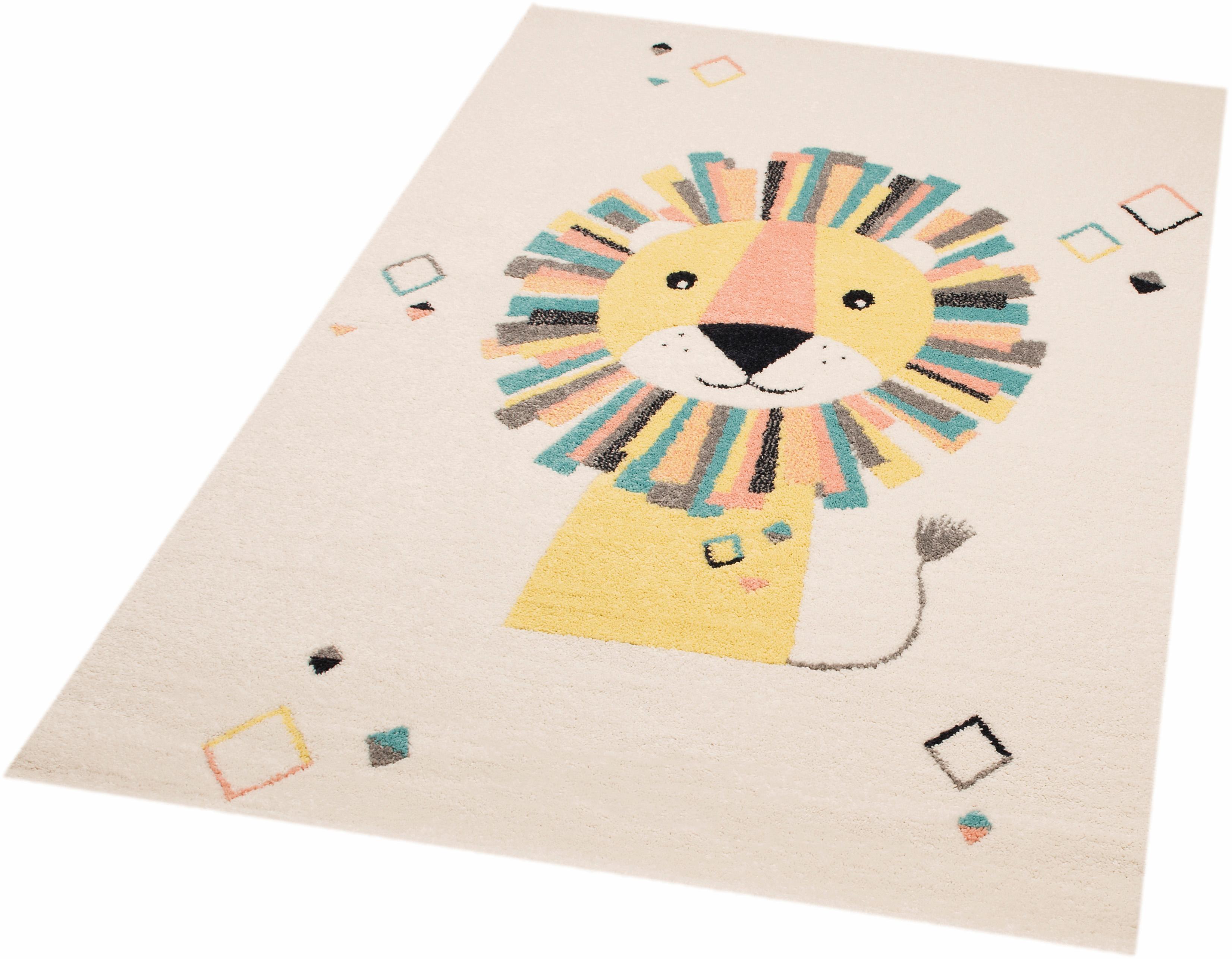 Kinderteppich Lion Stan Zala Living rechteckig Höhe 8 mm maschinell gewebt