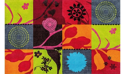 Läufer, »Summer Breeze«, wash+dry by Kleen - Tex, rechteckig, Höhe 9 mm, gedruckt kaufen
