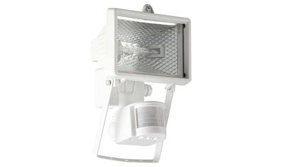 Brilliant Leuchten Tanko Außenwandstrahler 22cm Bewegungsmelder weiß kaufen