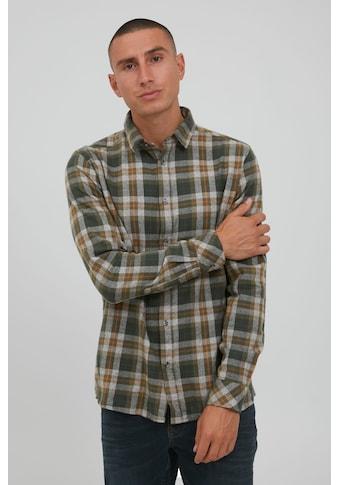 Solid Langarmhemd »SDTerkil Herringbone Check 21105659«, Freizeithemd mit Karo-Muster kaufen