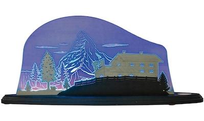 Weigla LED Dekolicht »Matterhorn«, 1 St., Neutralweiß, beidseitiges Motiv/ Motiv San... kaufen
