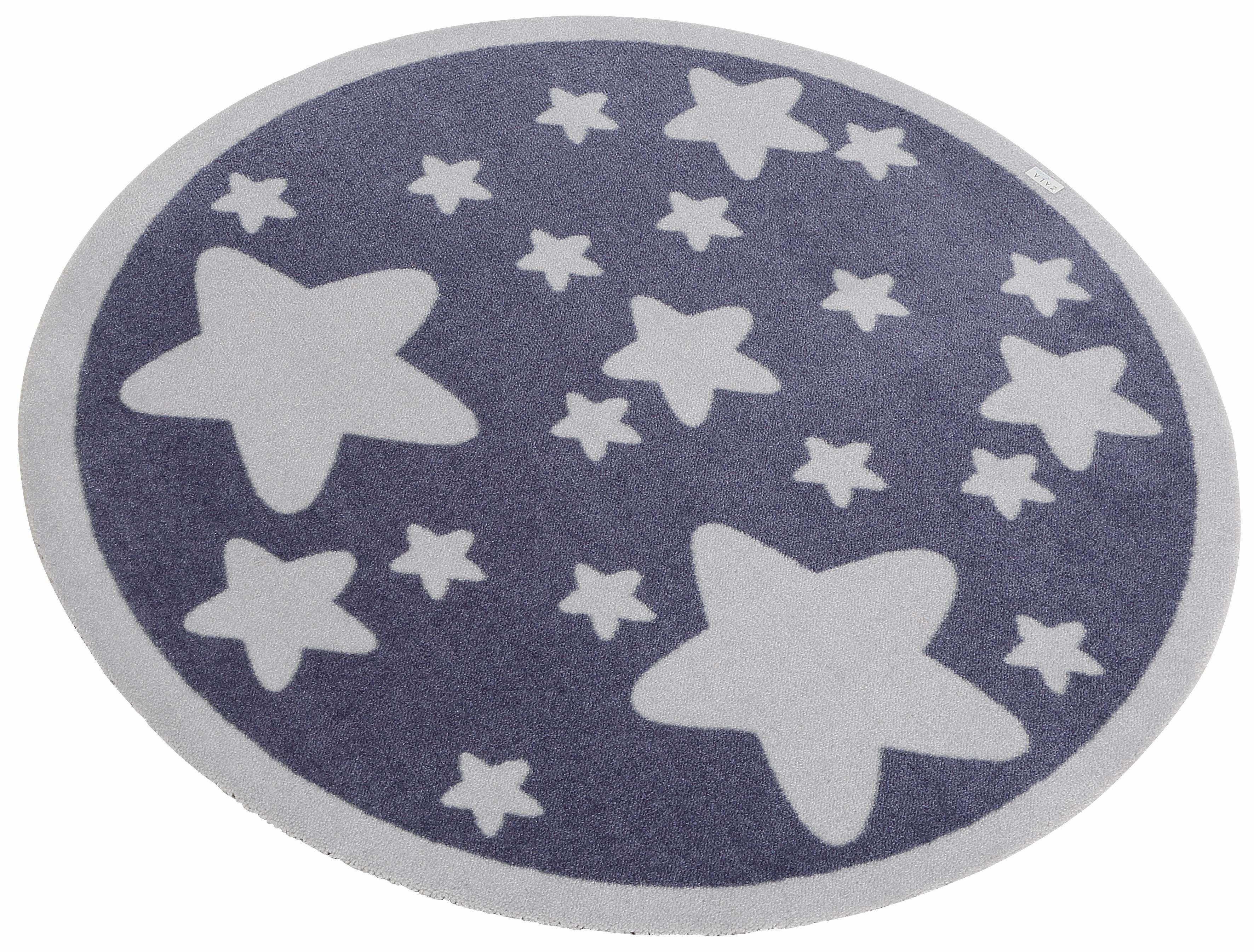 Kinderteppich, »Sterne«, Zala Living, rund, Höh...