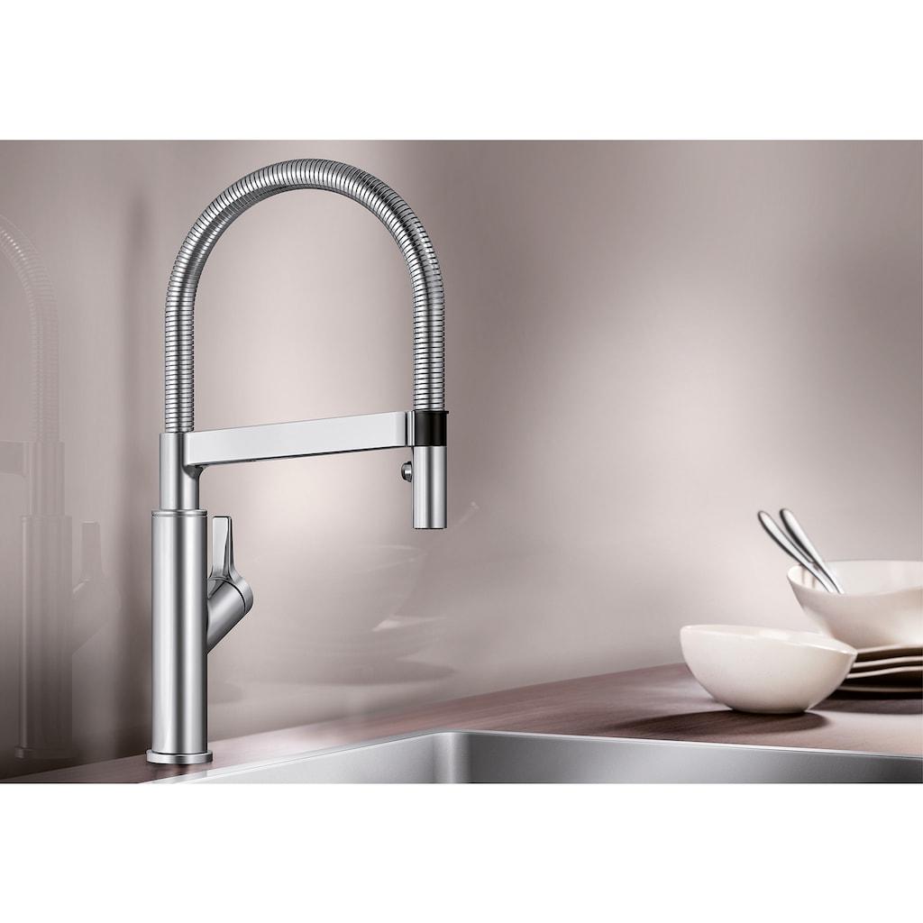 Blanco Küchenarmatur »SOLENTA-S«, Hochdruck, flexible Zweistrahlbrause mit Umschalt-Funktion