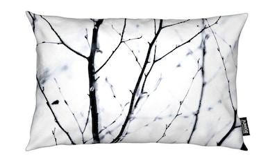 Dekokissen, »Winter Silhouettes 3«, Juniqe kaufen
