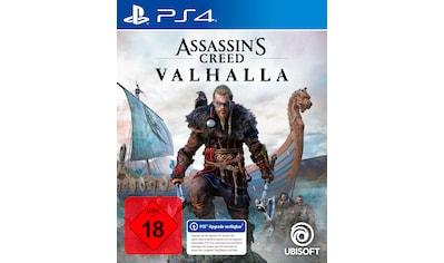 UBISOFT Spiel »Assassin's Creed Valhalla«, PlayStation 4 kaufen