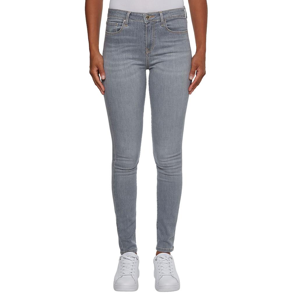 TOMMY HILFIGER Skinny-fit-Jeans »TH FLEX COMO SKINNY RW A CLR«, in modischen Farben