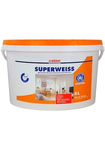 WILCKENS FARBEN Fassadenfarbe »Superweiss« kaufen