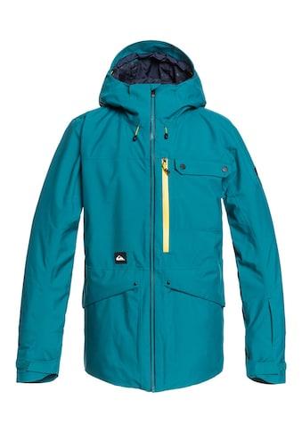 Quiksilver Snowboardjacke »Snow SpinDye®« kaufen