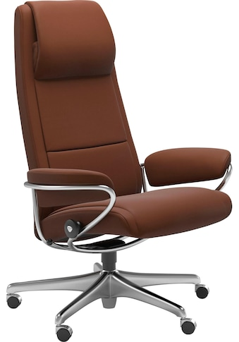 Stressless® Relaxsessel »Paris«, High Back, mit Home Office Base, Gestell Chrom kaufen