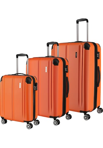 travelite Trolleyset »City, orange«, (3 tlg.) kaufen