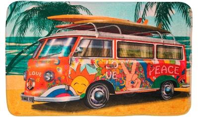 Sanilo Badematte »Summer Bus«, Höhe 15 mm, schnell trocknend, Memory Schaum kaufen