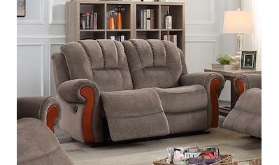 DELAVITA 2-Sitzer »Marven«, mit Relaxfunktion und Federkern-Polsterung kaufen