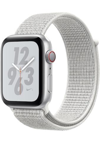 Apple Nike+ Series 4 GPS + Cellular, Aluminiumgehäuse mit Nike Sportarmband Loop 44mm Watch (Watch OS 5) kaufen
