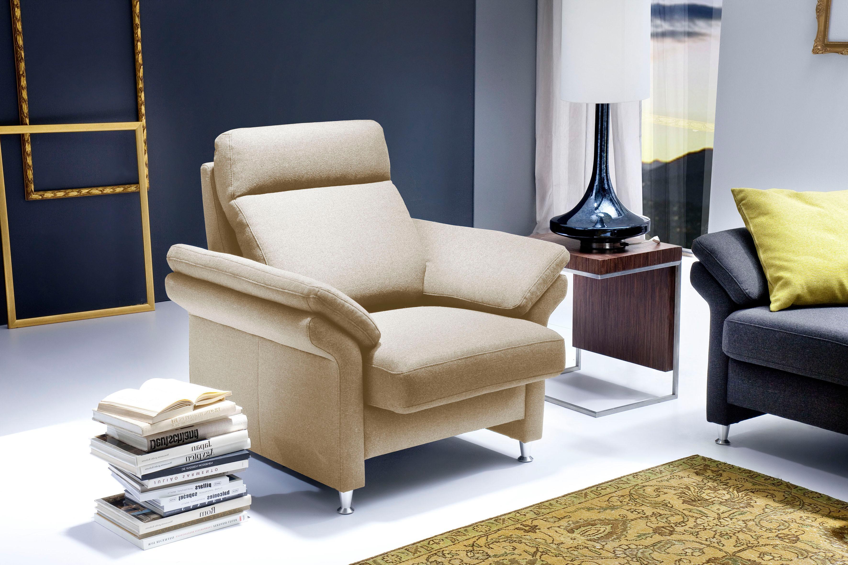 Delavita Sessel Mailand mit komfortablem Federkern-Sitz wahlweise mit Move-Funktion