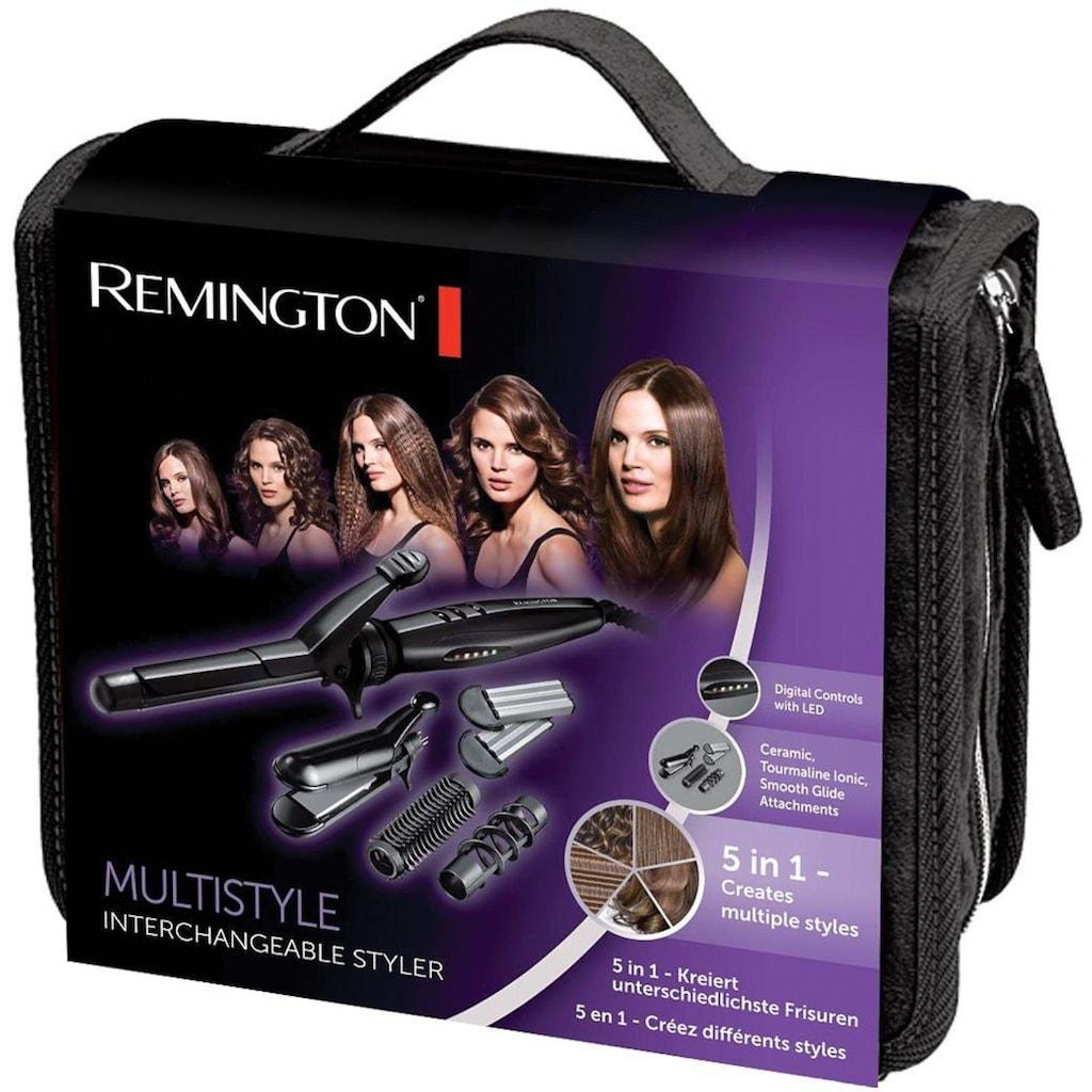 Remington Multihaarstyler »S8670«, 5 Aufsätze}, 5-in-1