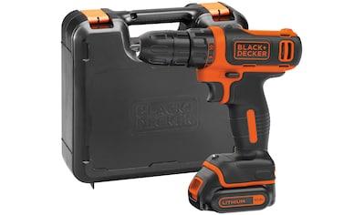 BLACK + DECKER Akku - Bohrschrauber »BDCDD12K«, 1,5 Ah, 10,8 V, inkl.Akku und Ladegerät kaufen