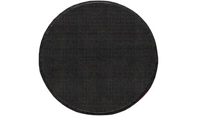 my home Teppich »Timberova«, rund, 5 mm Höhe, In- und Outdoor geeignet, Wohnzimmer kaufen