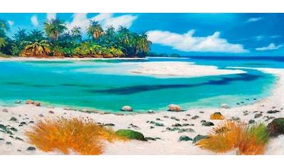 my home Deco-Panel »PIERRE BENSON / Tropical Paradise«, 100/50 cm kaufen