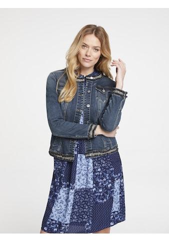 Jeansjacke mit Effektgarn kaufen