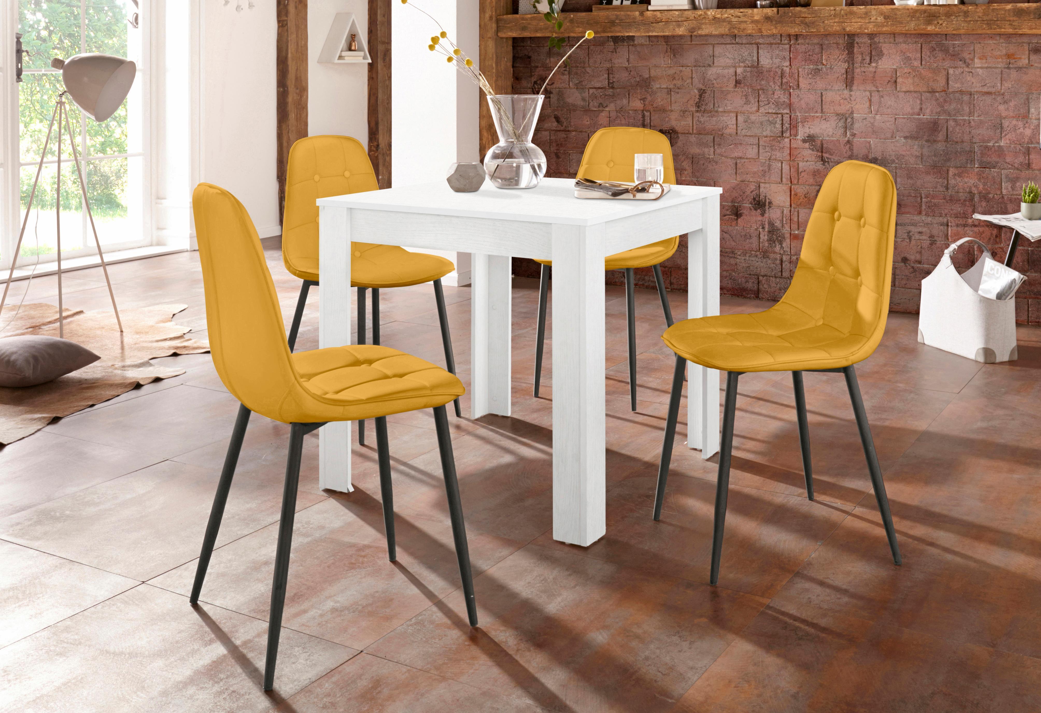 Mit esstisch affordable kleines wohnzimmer mit esstisch for Rattan lounge mit esstisch