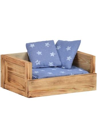 SILVIO design Tiersofa »Skyler«, BxLxH: 45x34x20 cm, jeansblau kaufen