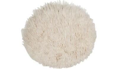 THEKO Wollteppich »FLOKOS 1250«, rund, 40 mm Höhe, Flokati, reine Wolle, handgewebt,... kaufen