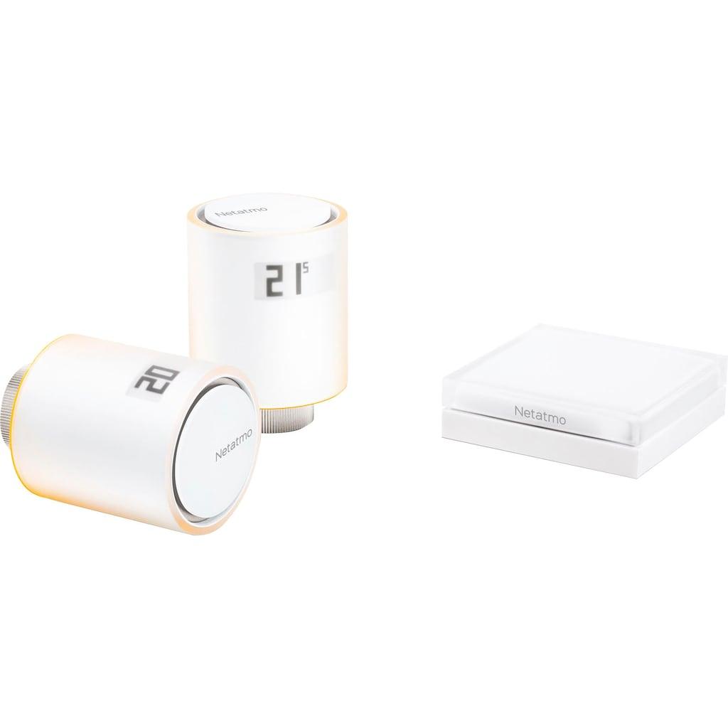 Netatmo Smartes Heizkörperthermostat »Smarte Heizkörperthermostate Starterpaket«