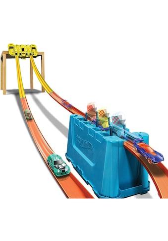Hot Wheels Autorennbahn »Track Builder Unlimited Mehrspurige Speed Box«, inkl. 1... kaufen