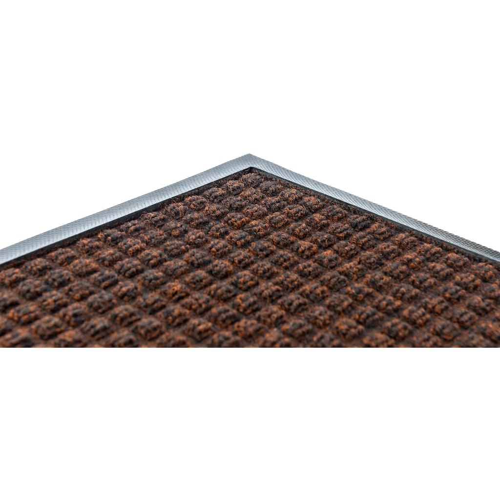 Kleen-Tex Fußmatte »Water-Horse«, rechteckig, 7 mm Höhe, Schmutzfangmatte, In- und Outdoor, rutschhemmend beschichtet