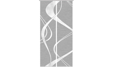 Vision Schiebegardine »TIBANO 2er SET«, Bambus-Optik, Digital bedruckt kaufen