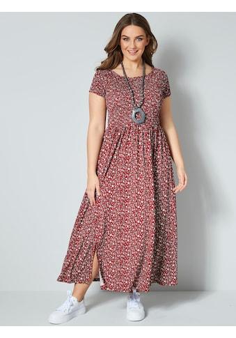 Janet & Joyce by HAPPYsize Kleid mit floralem Druck kaufen
