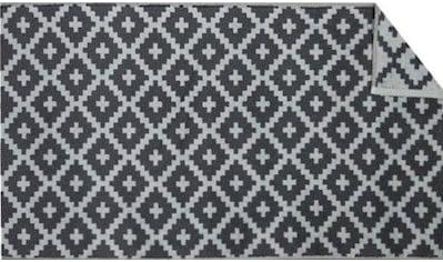 Badematte »Raute«, freundin Home Collection, Höhe 11 mm, beidseitig nutzbar fußbodenheizungsgeeignet strapazierfähig kaufen