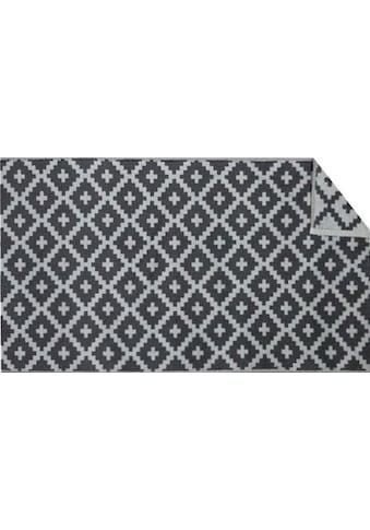freundin Home Collection Badematte »Raute«, Höhe 11 mm, beidseitig nutzbar-fußbodenheizungsgeeignet-strapazierfähig kaufen
