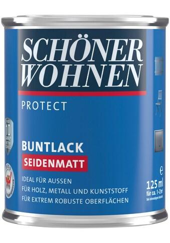 SCHÖNER WOHNEN-Kollektion Lack »Protect«, seidenmatt, 125 ml, naturgrau kaufen