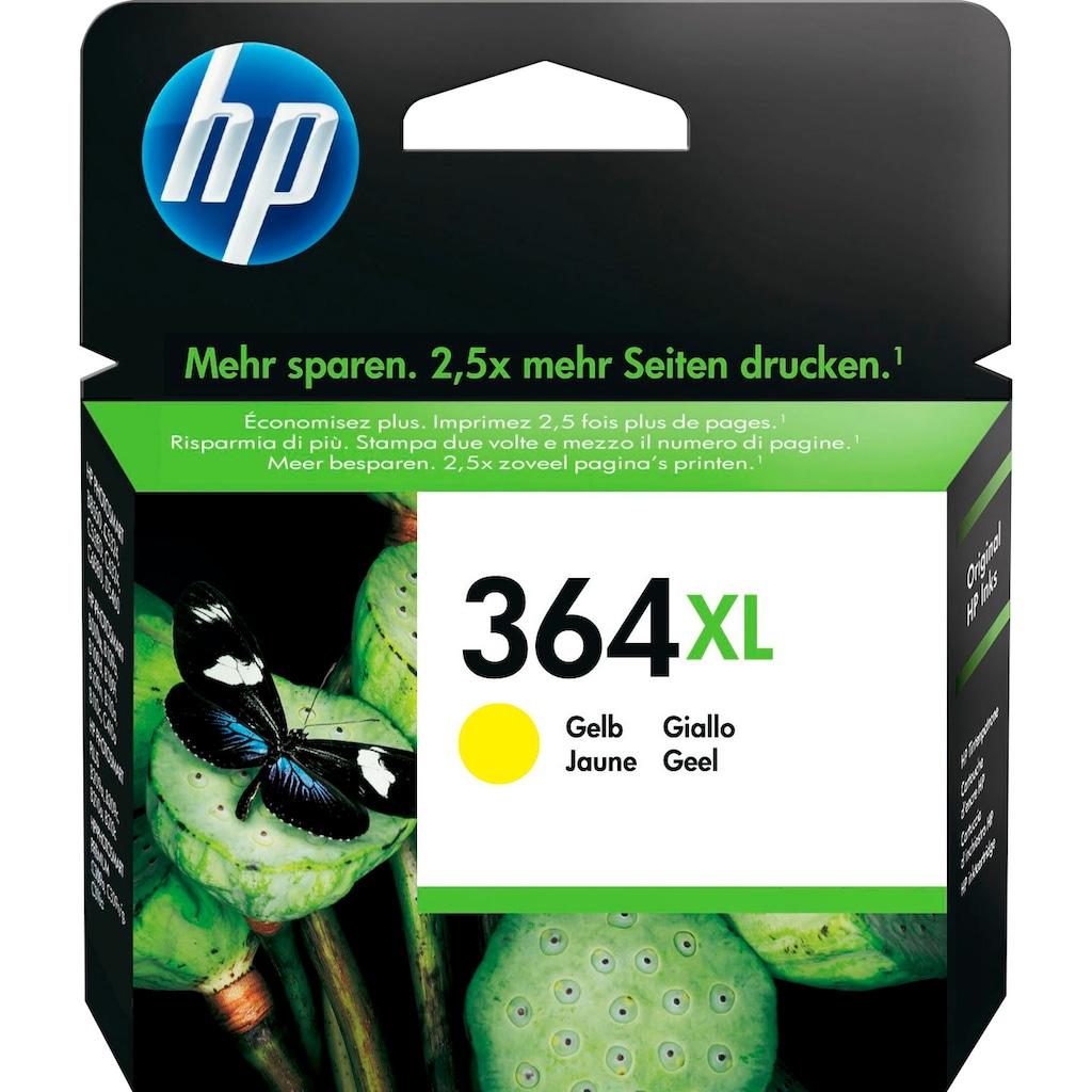 HP Tintenpatrone »hp 364XL Original Gelb«, (1 St.)