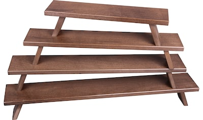 Weigla Schwibbogen-Fensterbank, aus FSC®-zertifiziertem Holz, buche-rustikal, Höhe ca. 11 cm kaufen