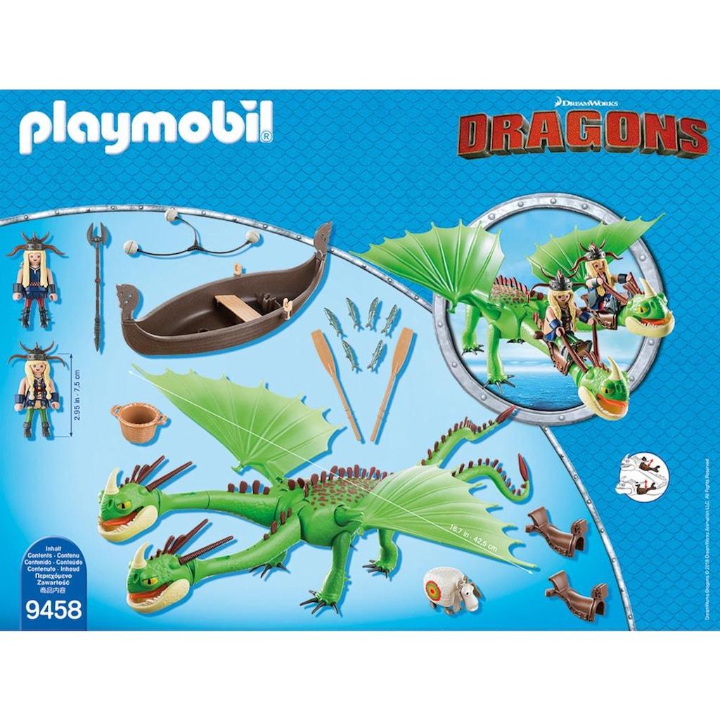 Playmobil® Konstruktions-Spielset »Raffnuss und Taffnuss mit Kotz und Würg (9458), Dragons«, Made in Europe