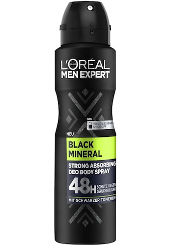 "L'ORÉAL PARIS MEN EXPERT Deo - Spray ""Black Mineral"" kaufen"