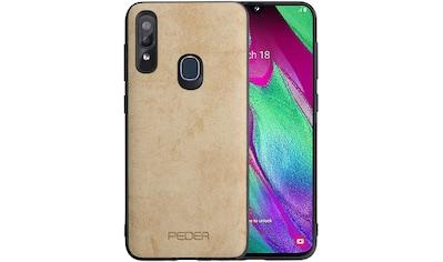 """PEDEA Handytasche »TPU+PC Case """"Stofflook"""" für Samsung Galaxy A40« kaufen"""
