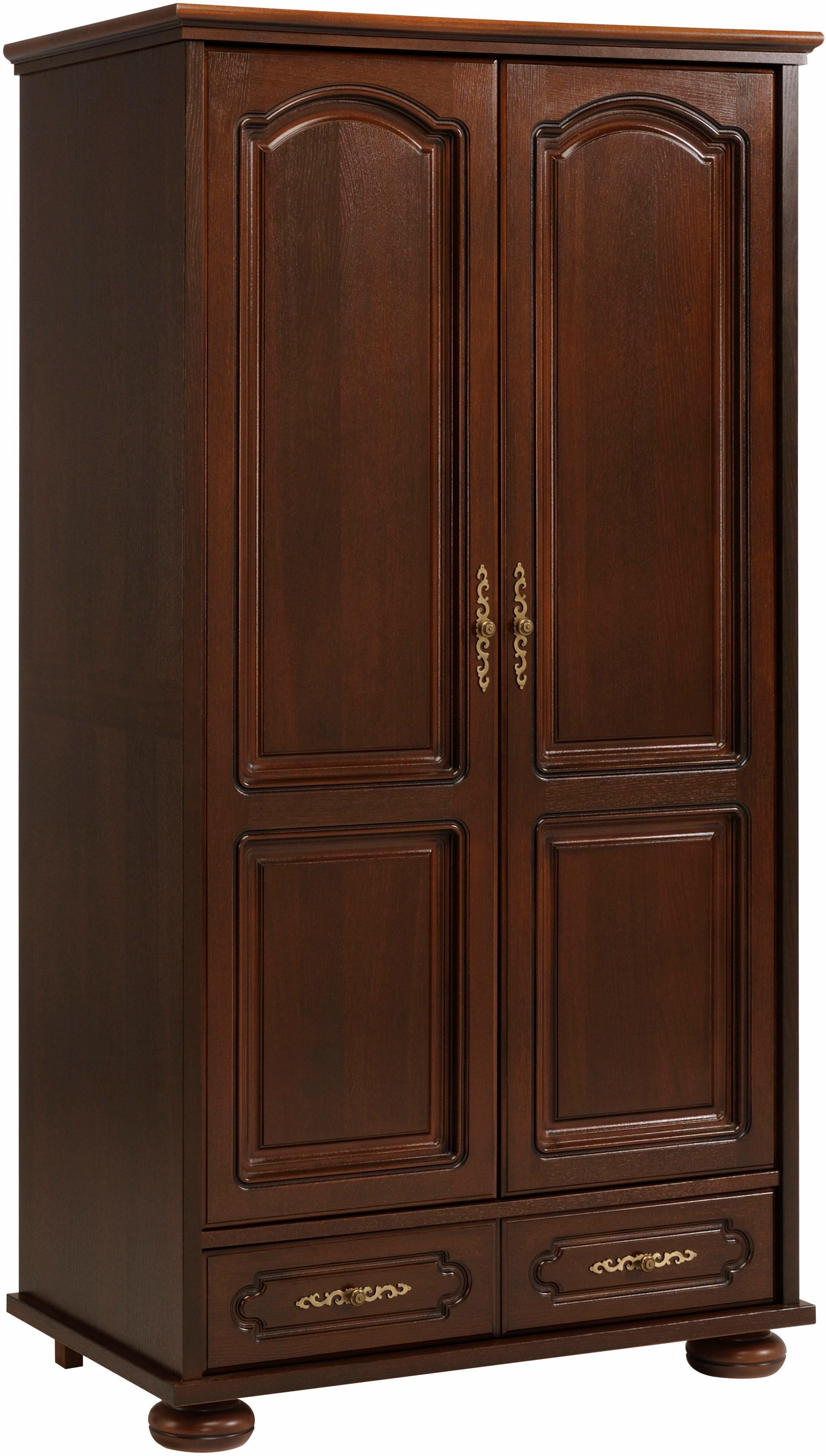Braun Holzfurnier Drehtürenschränke Online Kaufen Möbel