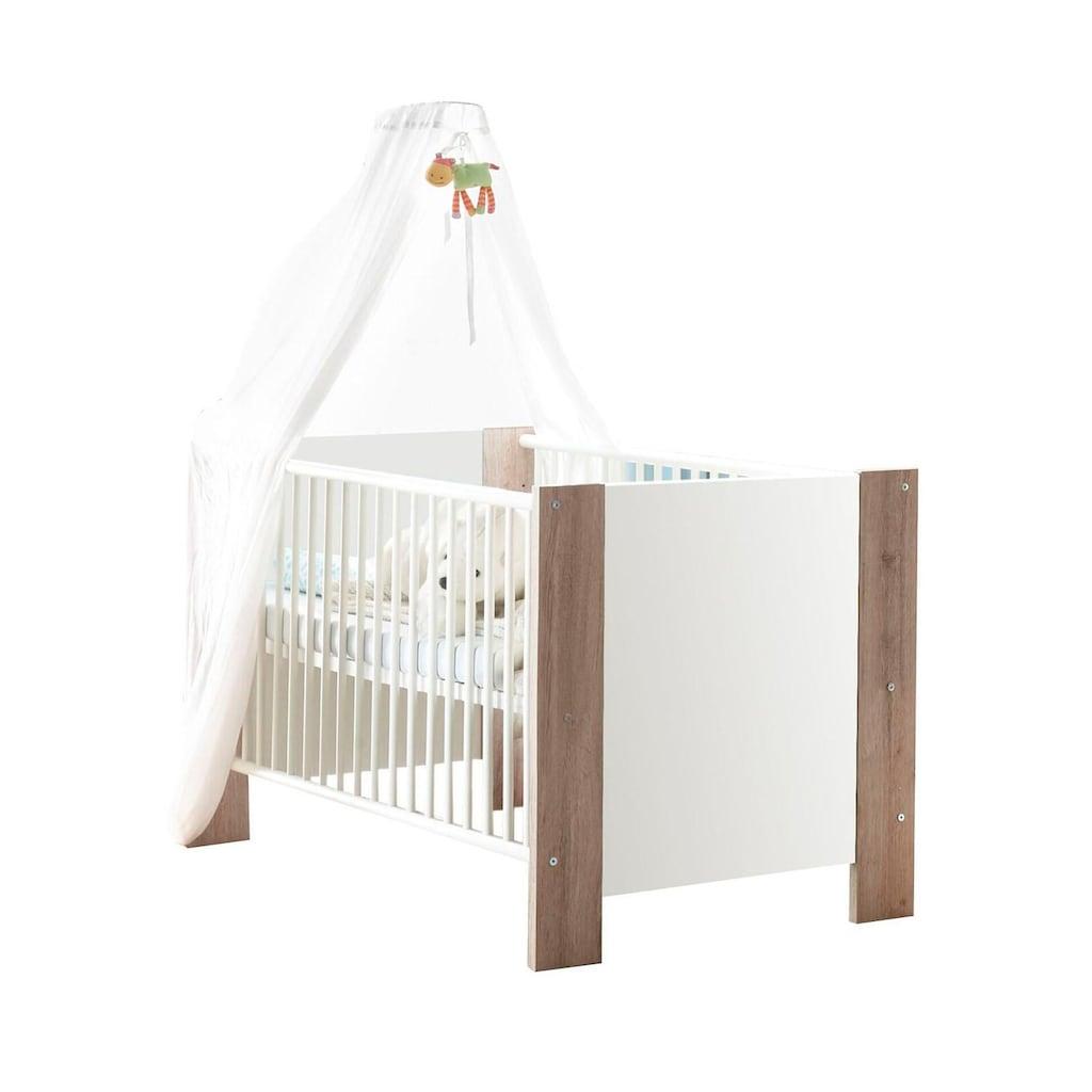 Babymöbel-Set »Madrid«, (Spar-Set, 2 St.), Bett + Wickelkommode