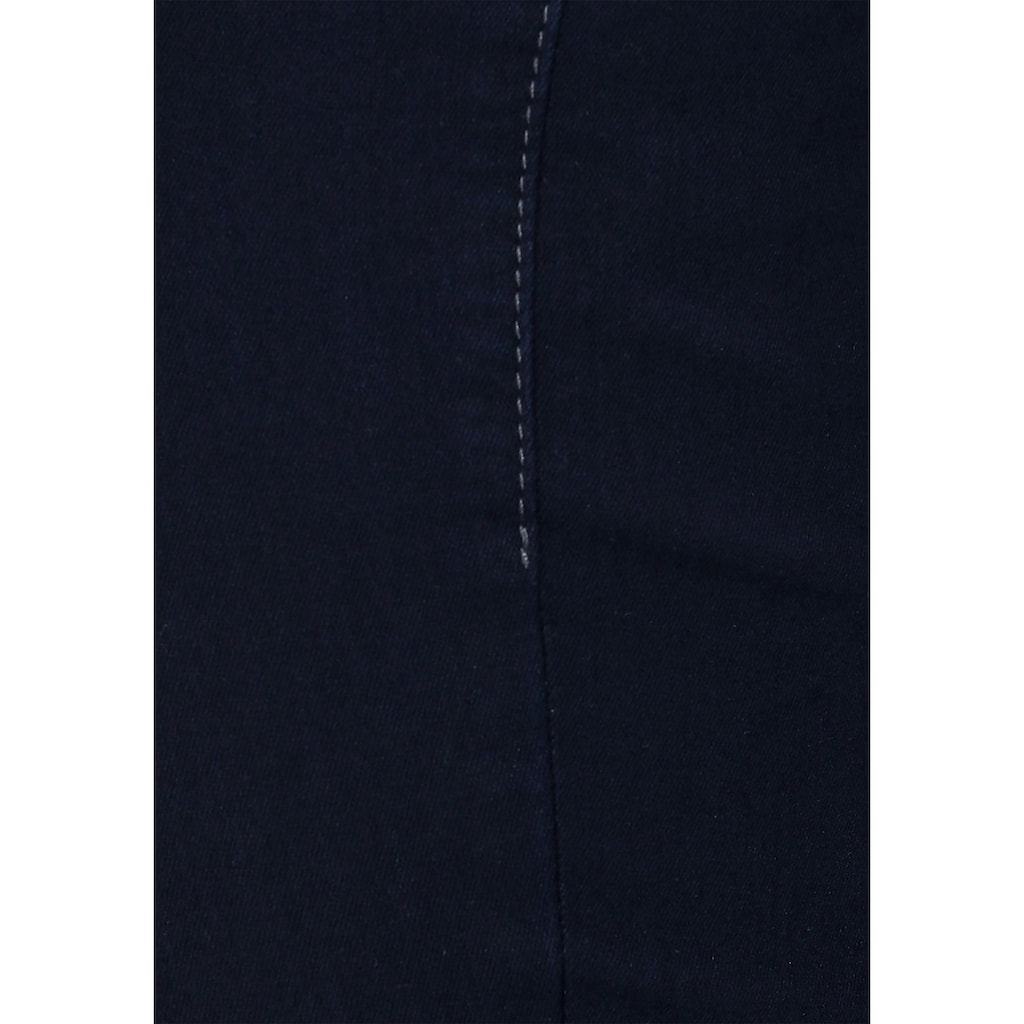 MAC 7/8-Jeans »Dream Chic«, Verkürzte Form mit Reißverschluss
