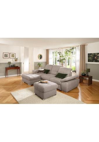 DELAVITA Ecksofa »Lotus«, mit Recamierenabschluss, Sitztiefenverstellung, in 3... kaufen