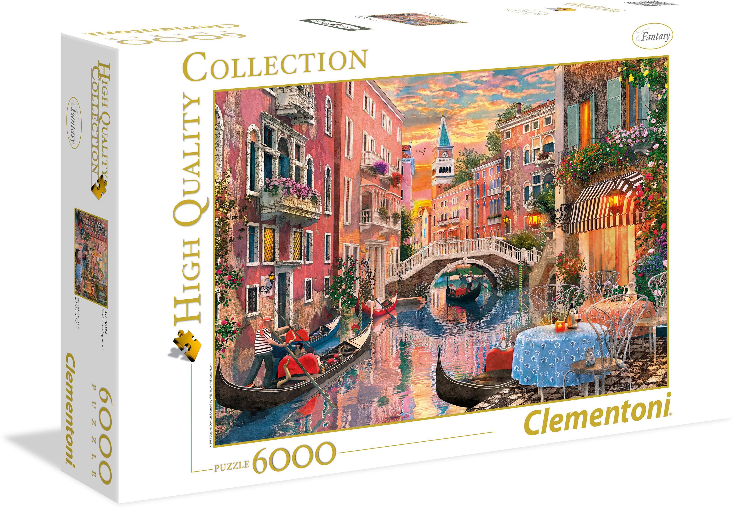 "Clementoni Puzzle ""Venedig bei Sonnenuntergang"" Kindermode/Spielzeug/Gesellschaftsspiele/Puzzle/Puzzle"