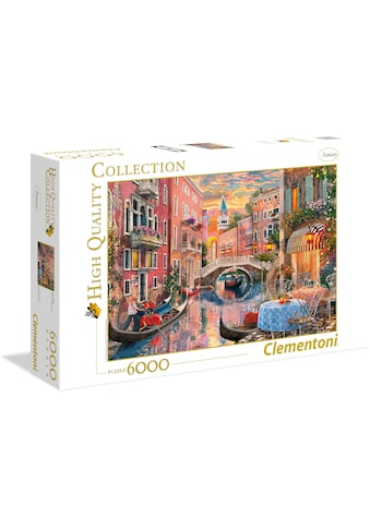 "Clementoni® Puzzle ""Venedig bei Sonnenuntergang"" kaufen"