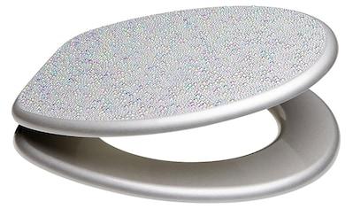 SANILO WC - Sitz »Crystal Silver«, mit Absenkautomatik kaufen