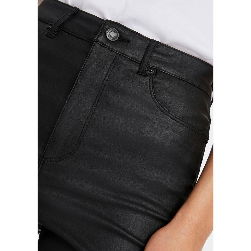 Vero Moda Stretch-Hose »VMLOA HR SKINNY COATED«