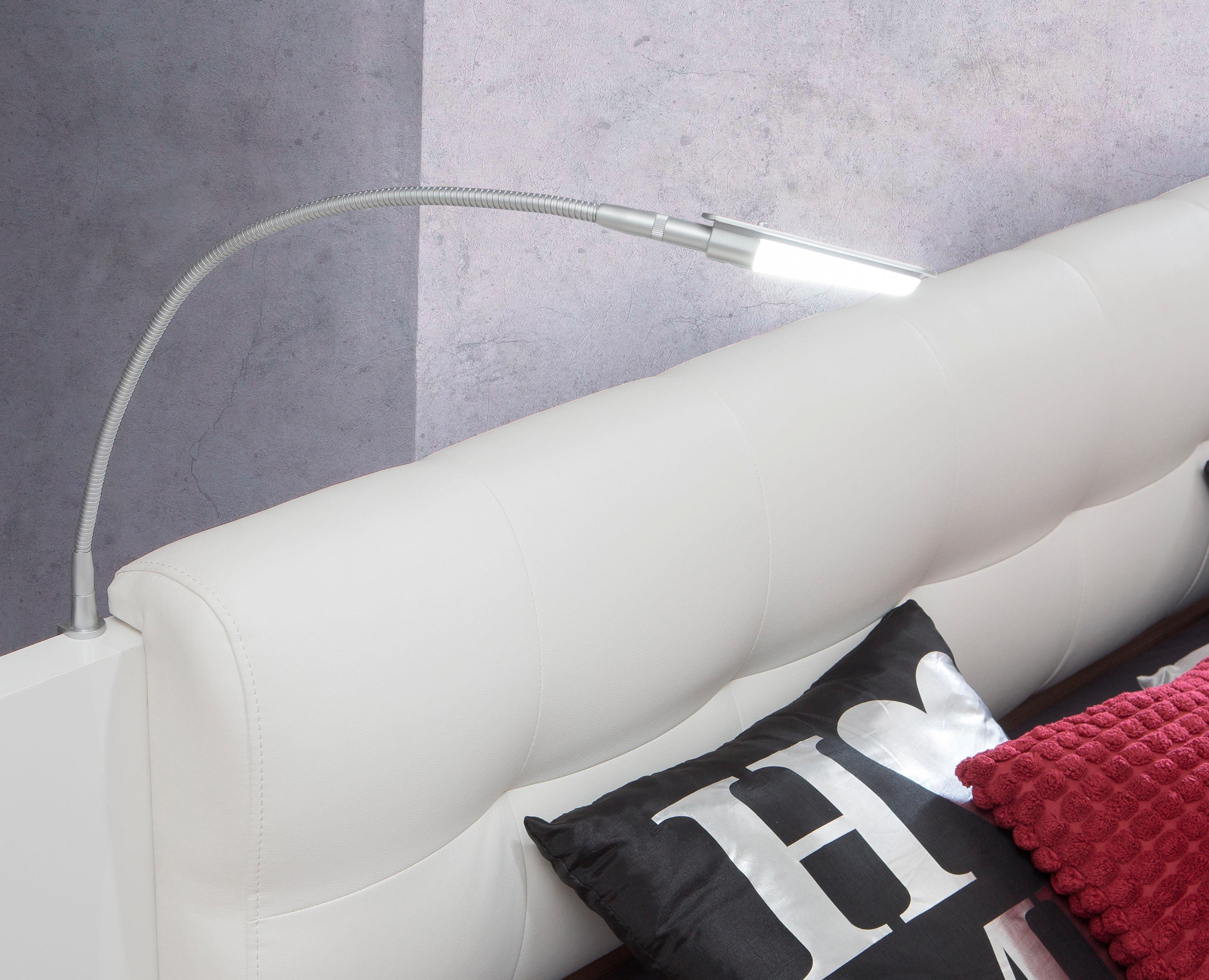 FORTE LED Leselampe, 2er Set weiß Leselampen Lampen Leuchten Leselampe