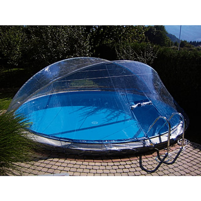 SUMMER FUN Abdeckung »Cabrio Dome«, für Pools, ØxH: 500x145 cm